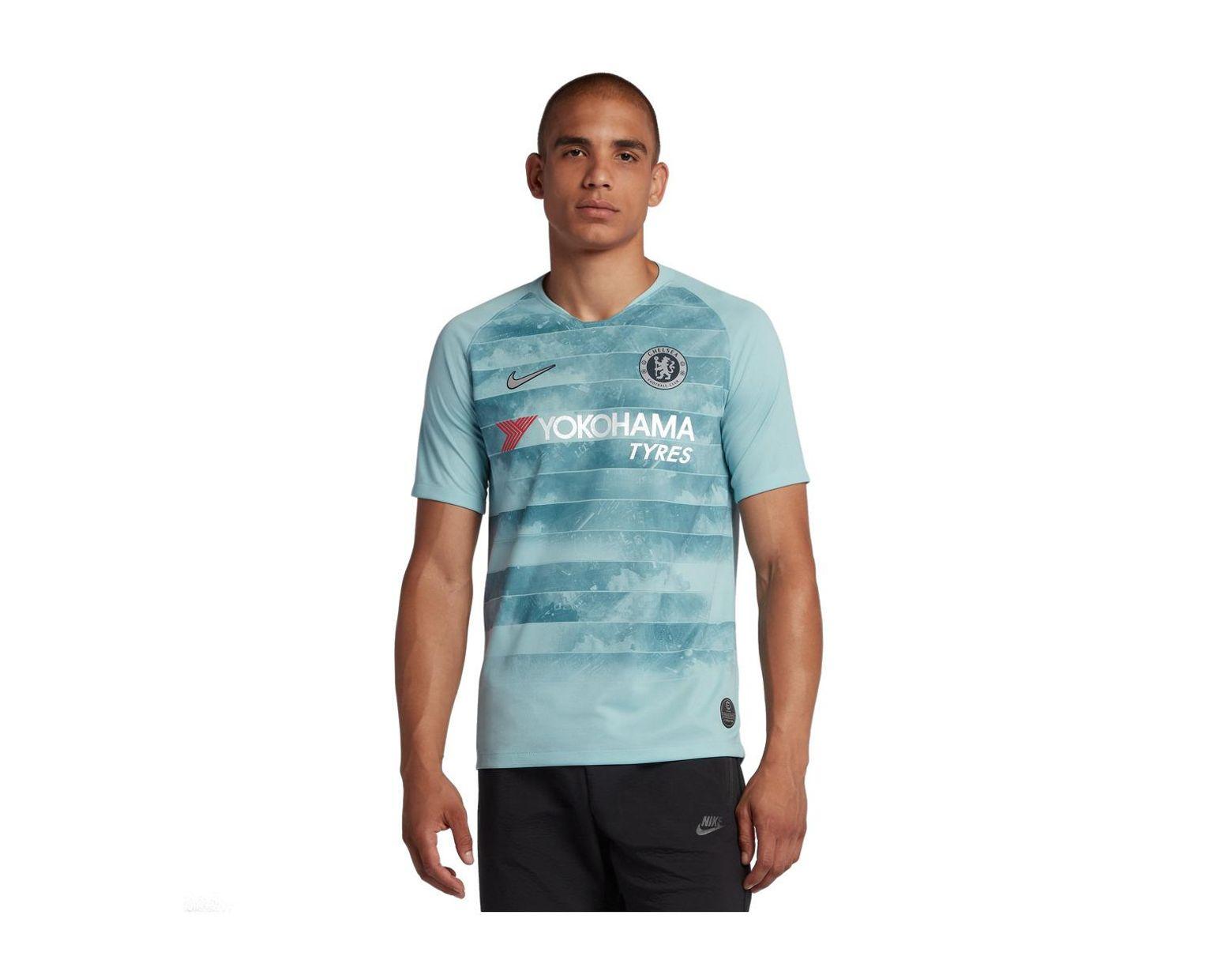 957ea1d686d Nike Chelsea Fc 2018-2019 Breathe Stadium Third Kit Shirt in Blue for Men -  Save 41% - Lyst