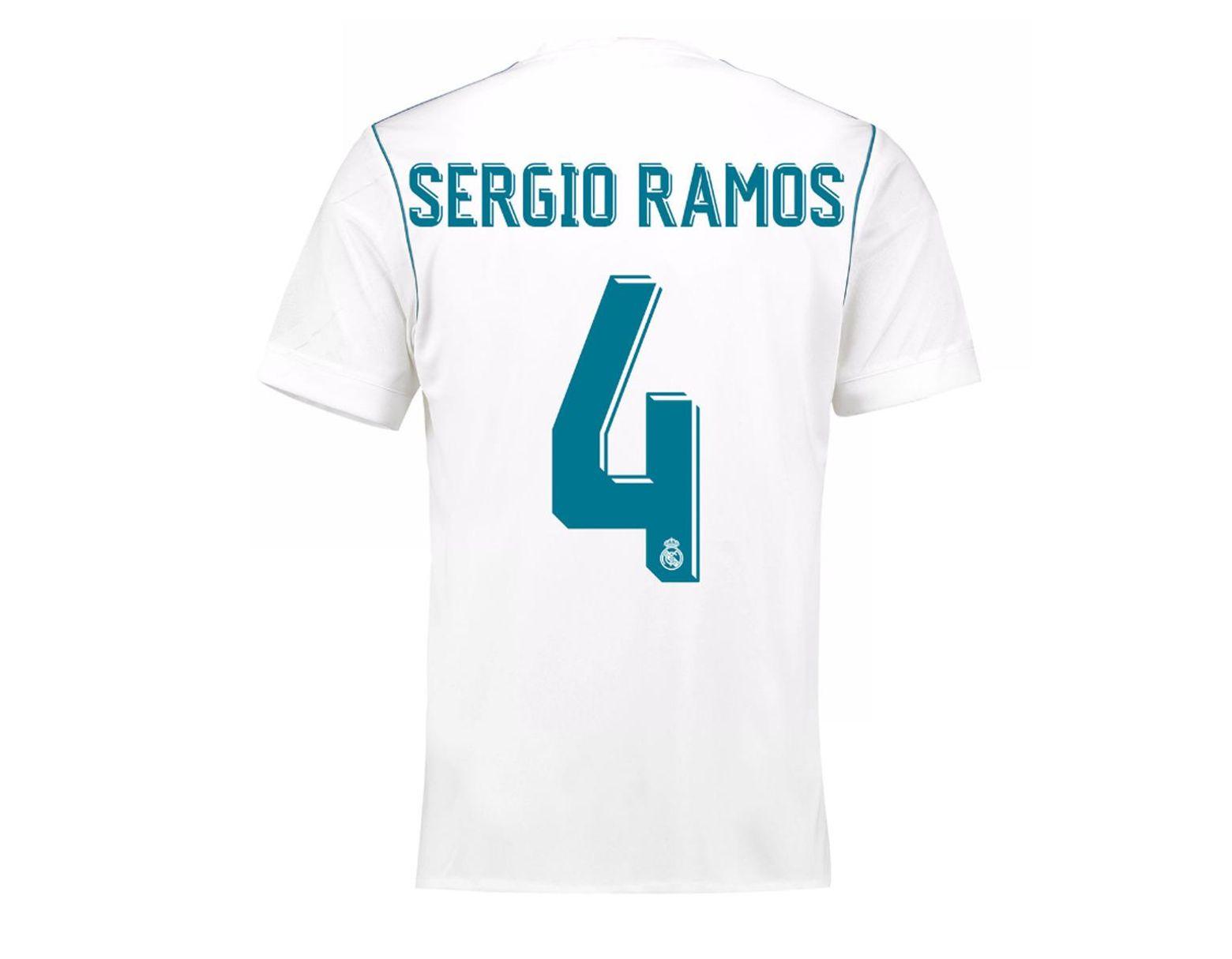 60b7edb36 adidas Real Madrid Cf 2017-2018 Asensio Home Strip T-shirt in White for Men  - Save 2% - Lyst