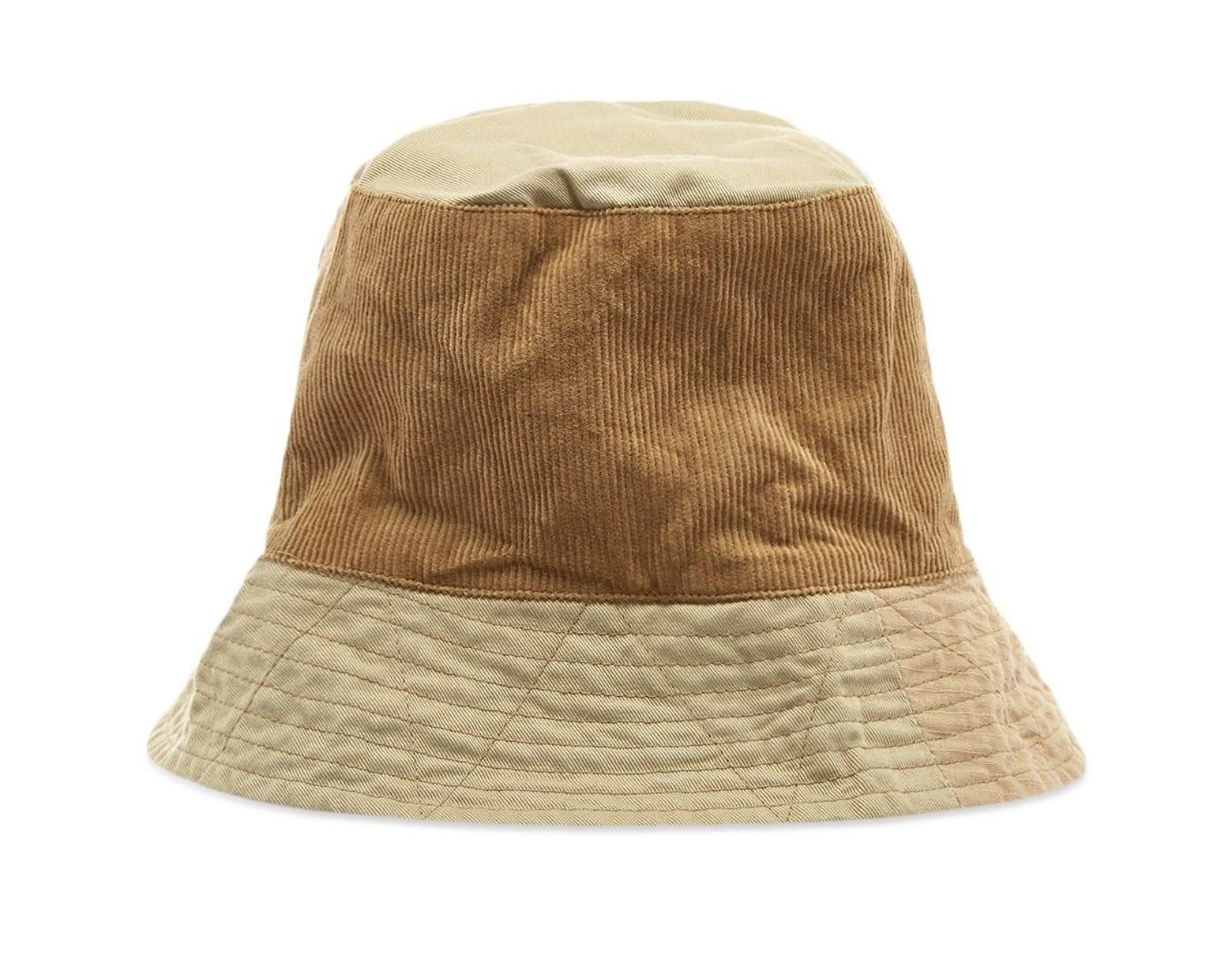 f8bf345e025e61 Engineered Garments Mix Bucket Hat in Natural for Men - Lyst