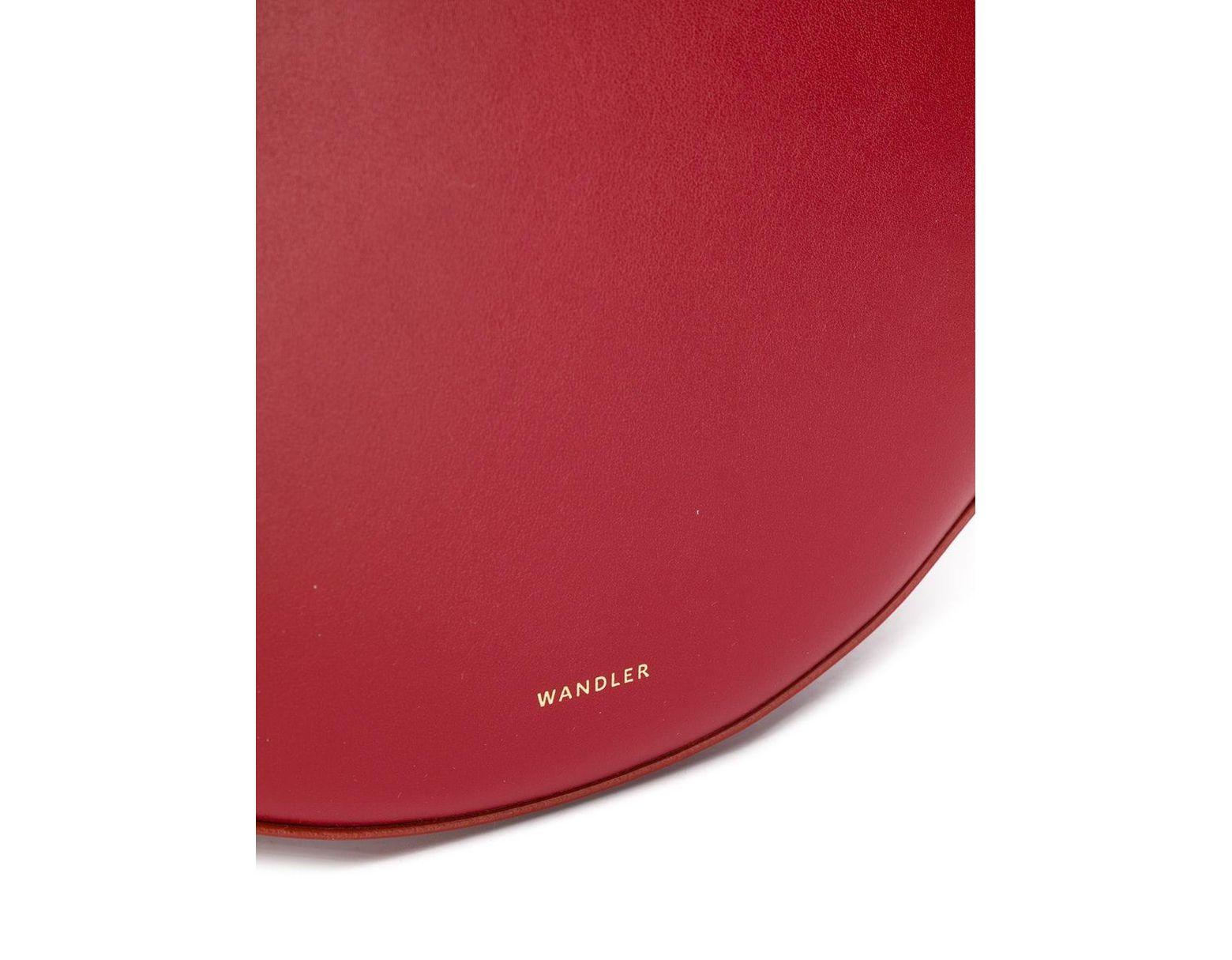 3b327aeebd Wandler Hortensia Medium Tote Bag in Red - Lyst