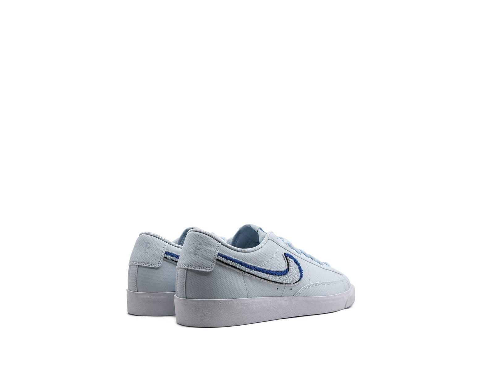 new concept 1c79f 29a79 Nike Blazer Low 3d Sneakers in Blue for Men - Lyst