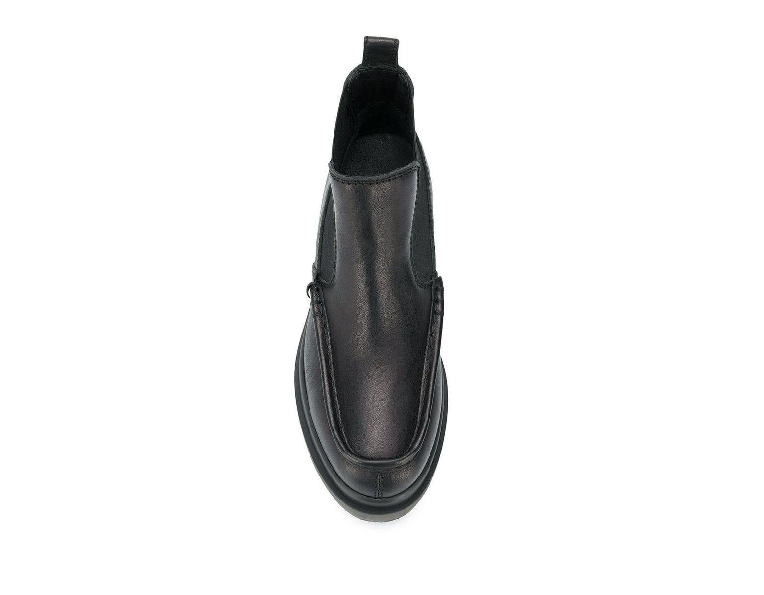 Women\u0027s Black Platform Ankle Boots