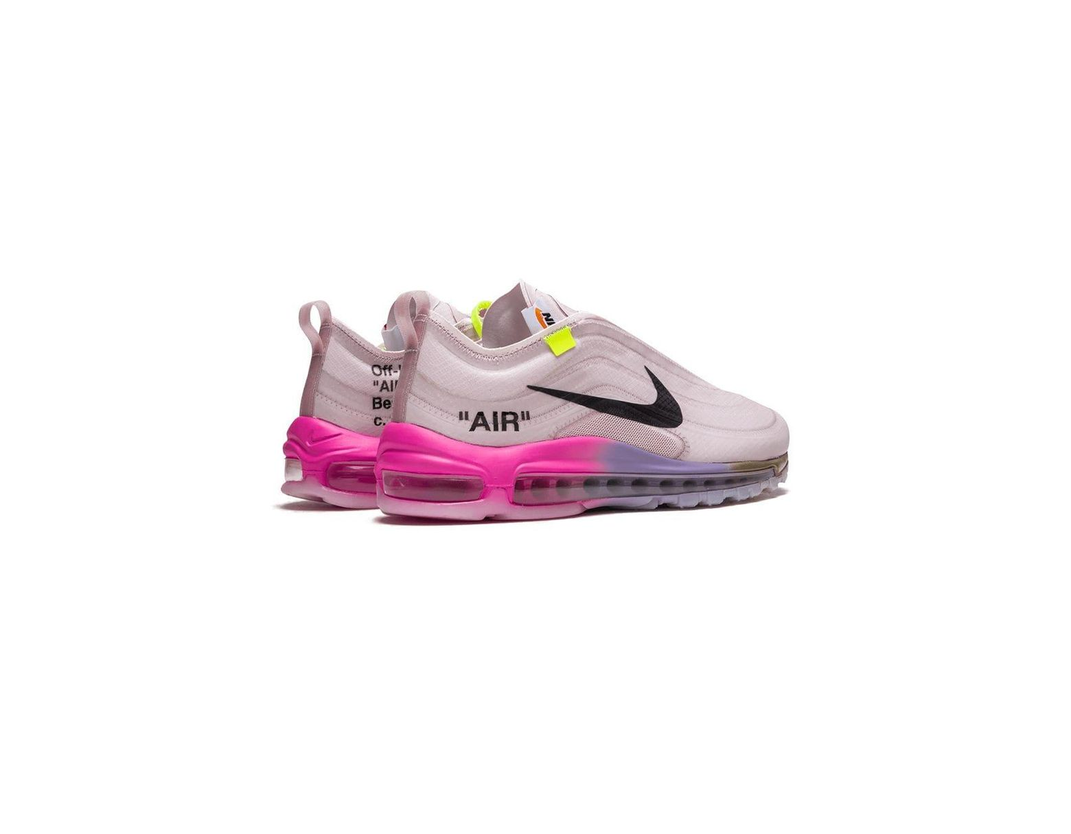 Nike Off White X The 10 Air Max 97 Og Sneakers In Pink For Men Lyst