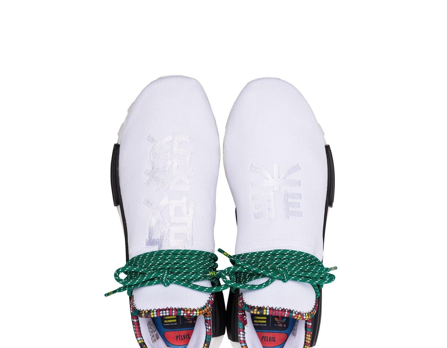 5cf279a6be196 Lyst - adidas X Pharrell Williams White Human Body Nmd Sneakers in White  for Men