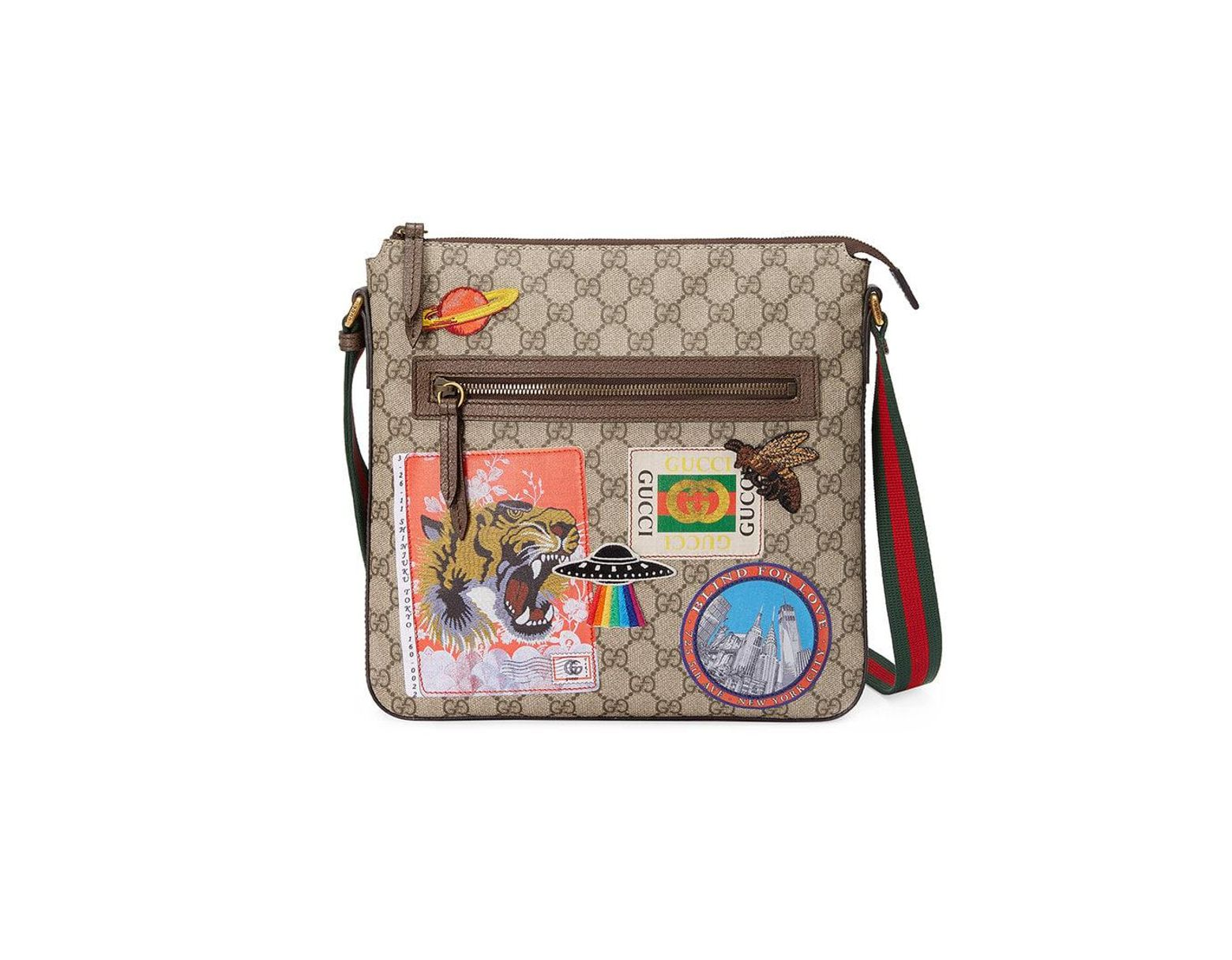 084df9540a5e Gucci Courrier Soft GG Supreme Messenger for Men - Save 12% - Lyst