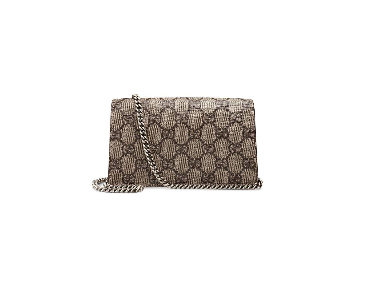 8c941f38a Gucci Dionysus GG Supreme Super Mini Bag - Save 27% - Lyst