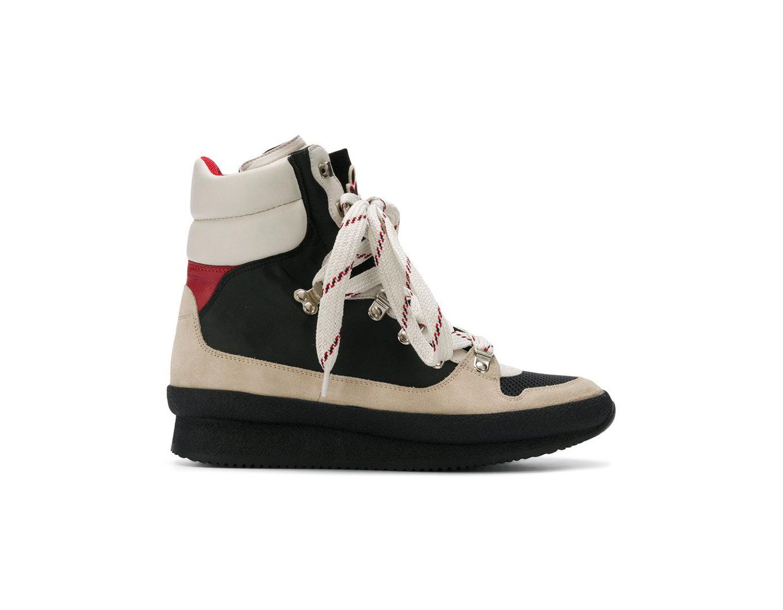 ee97792cfa0 Isabel Marant Brendta High Top Sneakers in Black - Save 35% - Lyst