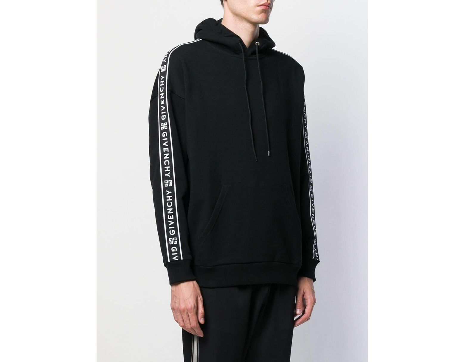 4559e9aa882c Givenchy 4g Webbing Hoodie in Black for Men - Lyst