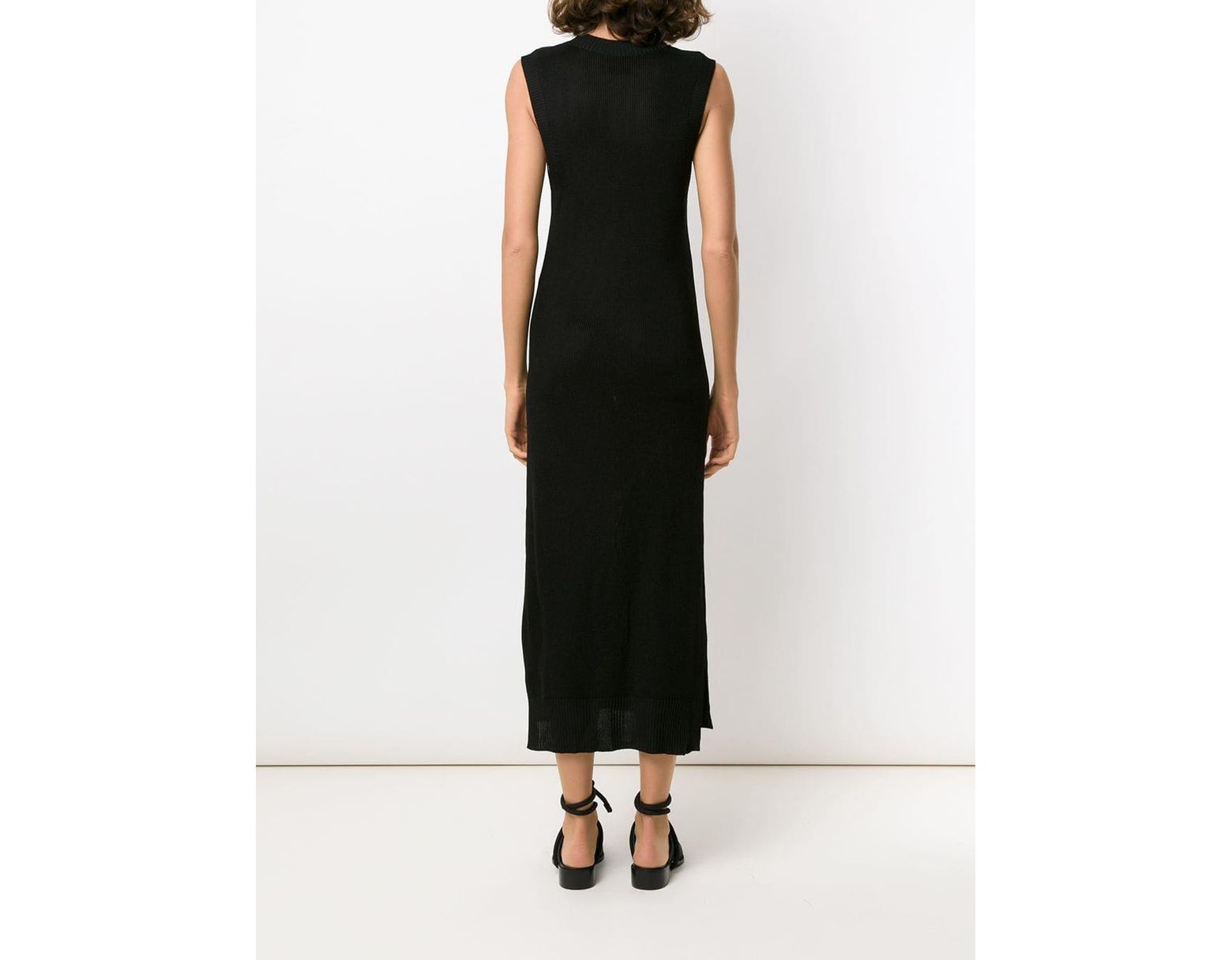 Textured Black Dress Save Osklen Midi In 38Lyst vmNn08wO
