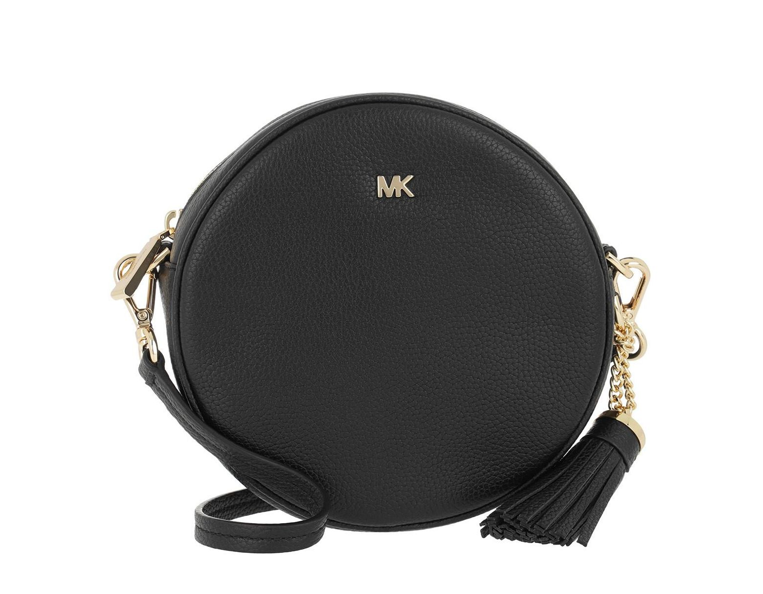 488c9cf9d343b0 Michael Kors Medium Canteen Bag Black in Black - Save 4% - Lyst