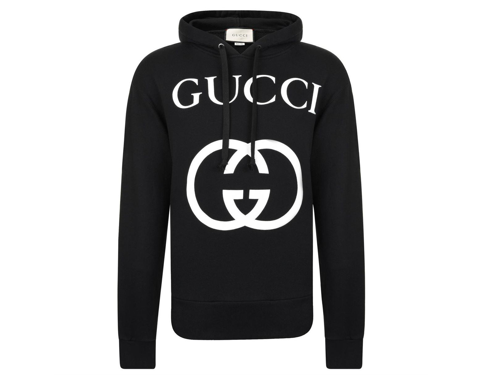 35d998bd8a0 Gucci Gg Hooded Sweatshirt in Black for Men - Save 30% - Lyst