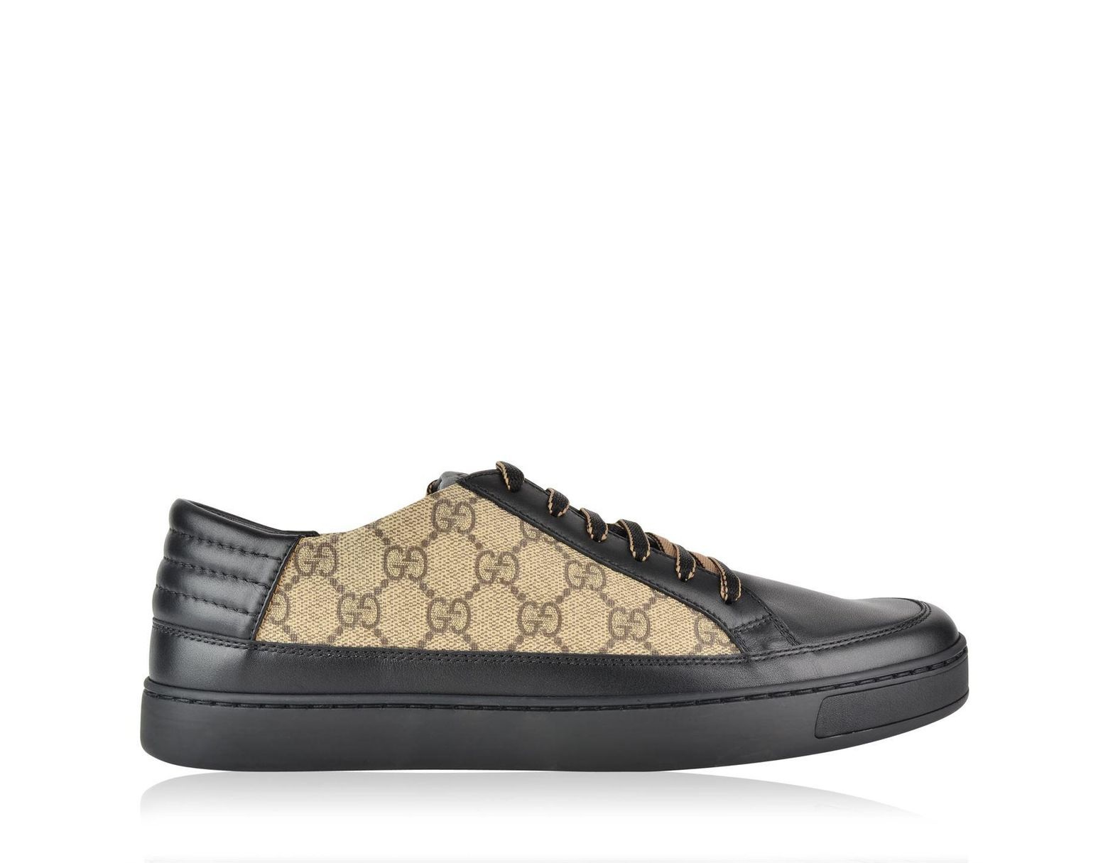 777f1daf13d Gucci Common Low Gg Supreme Trainers in Black for Men - Lyst