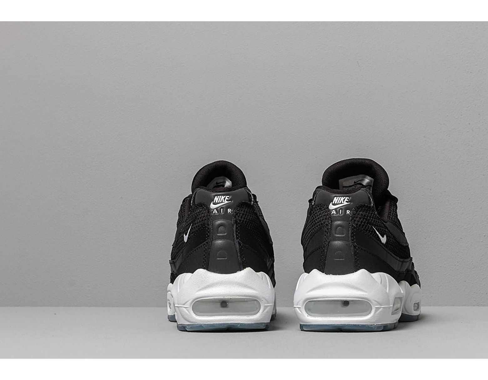 new style ce4fd 032b3 Nike Air Max 95 Essential Black  White-black-reflect Silver in Black for  Men - Lyst