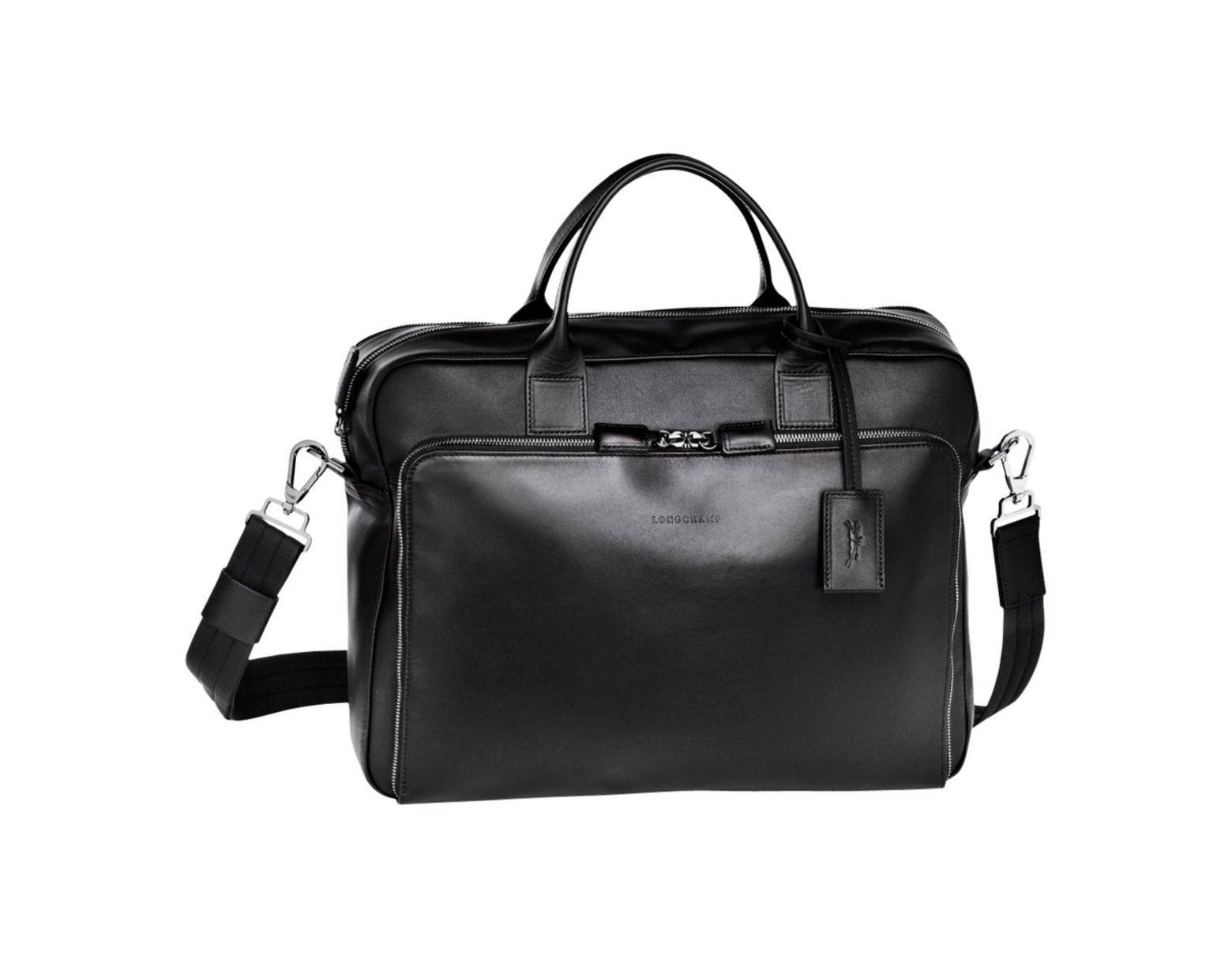 Lyst Baxi Longchamp Coloris Noir Documents Pour En Homme Porte dshrQt