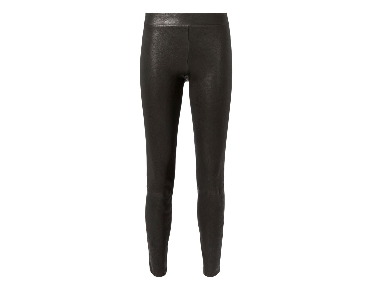 d40bb19803c199 L'Agence Leather Pull-on Pants in Black - Lyst