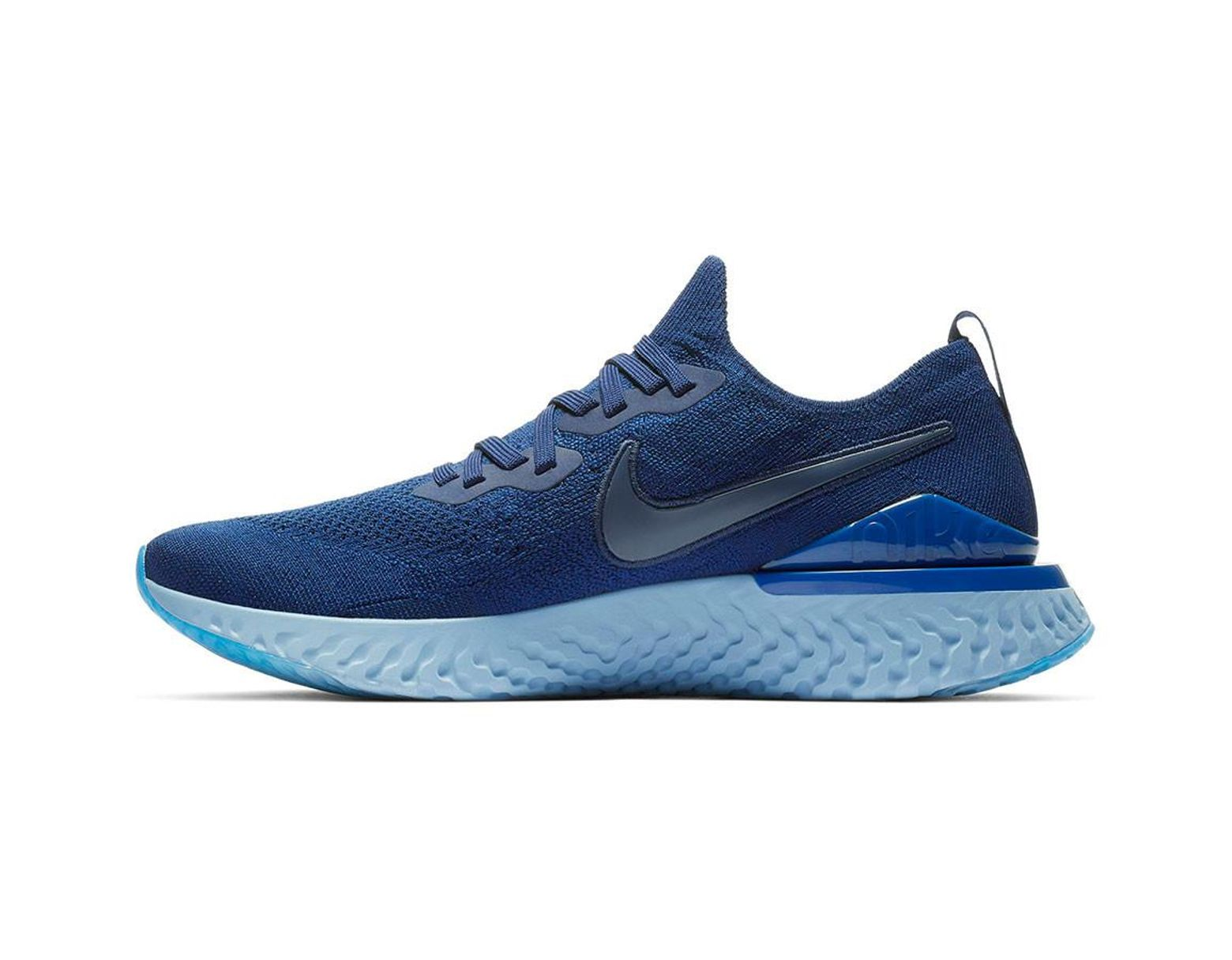 03f1068afedce Lyst - Nike Epic React Flyknit 2 Running Shoe in Blue for Men - Save 13%