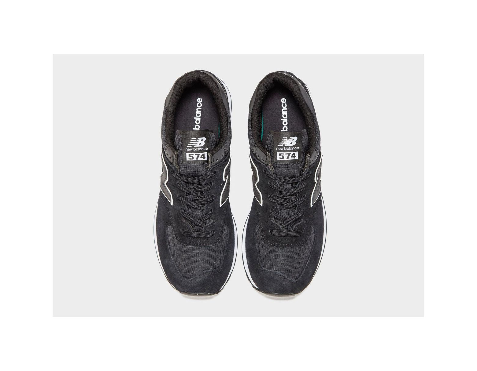 6d3376fc784 Lyst - New Balance 574 Ripstop in Black for Men - Save 30%