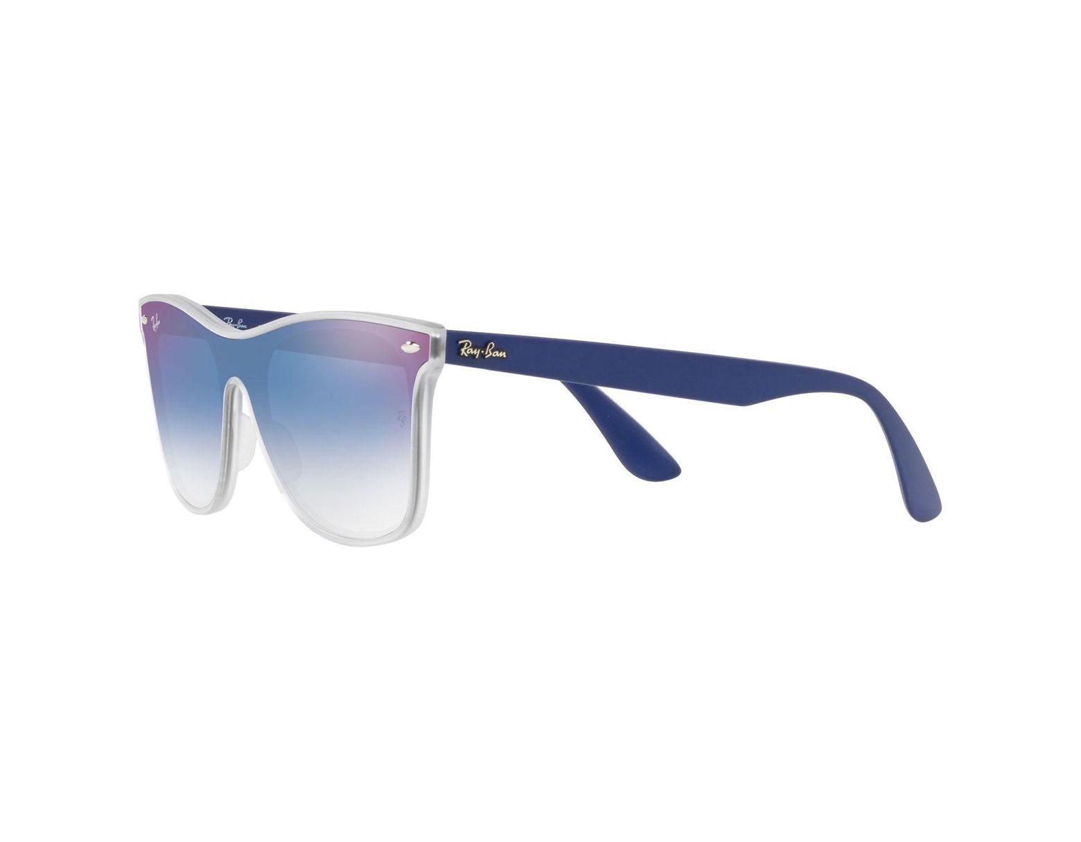 4710659a01 Ray-Ban Rb4440 Unisex Polarised Mirrored Sunglasses in Blue - Lyst