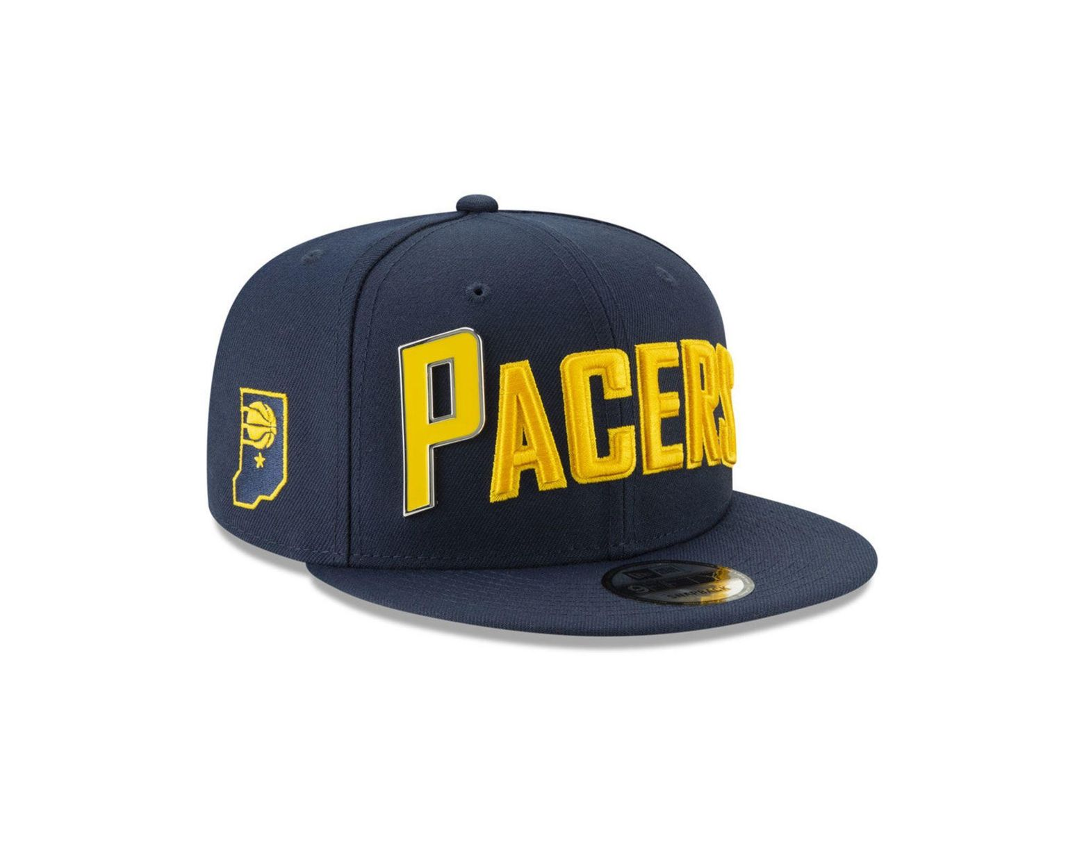 new product fa7d0 87dee KTZ Indiana Pacers Enamel Script 9fifty Snapback Cap in Blue for Men - Lyst