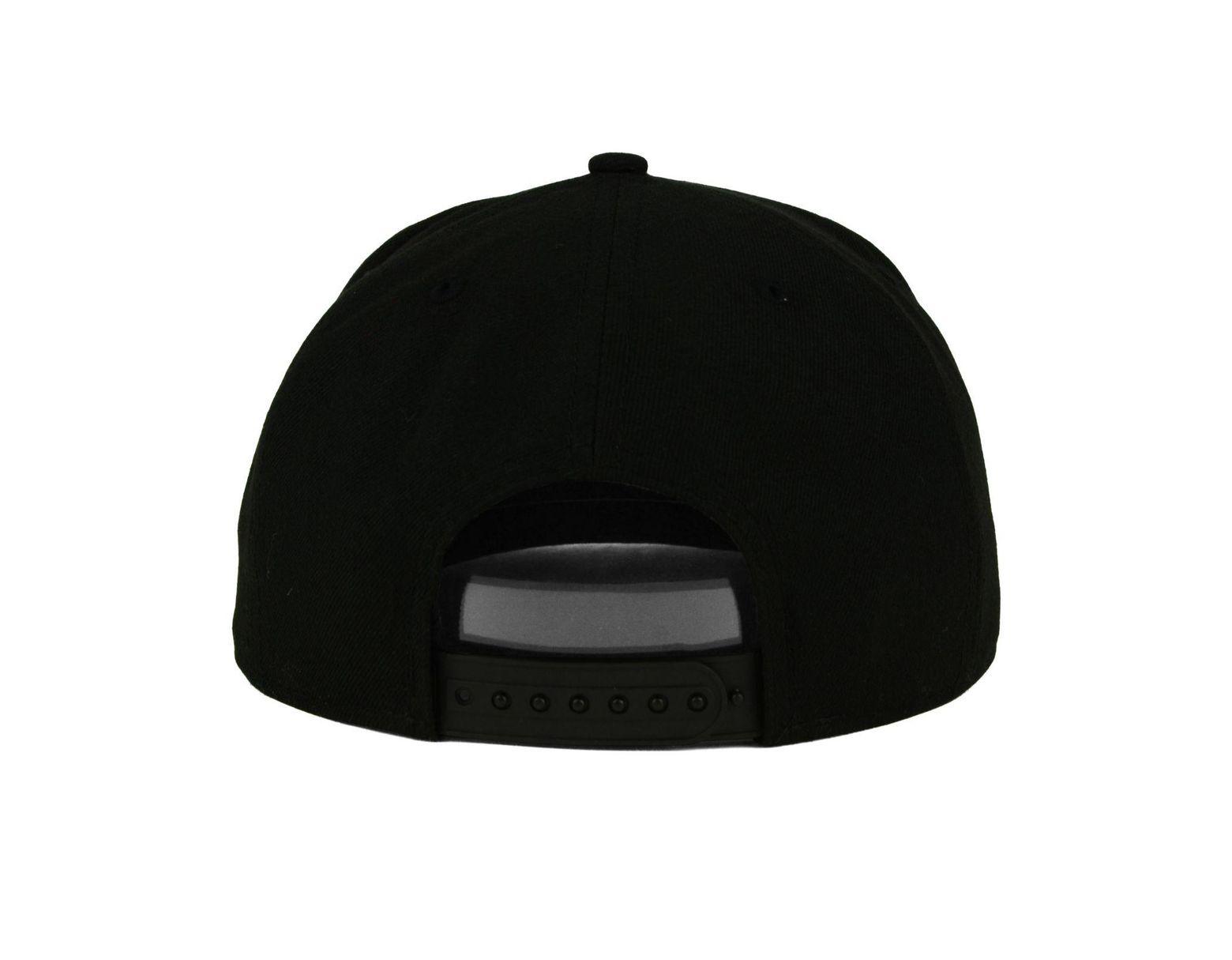 official photos 41536 f56fa KTZ California Golden Bears Black White Fashion 9fifty Snapback Cap in  Black for Men - Lyst
