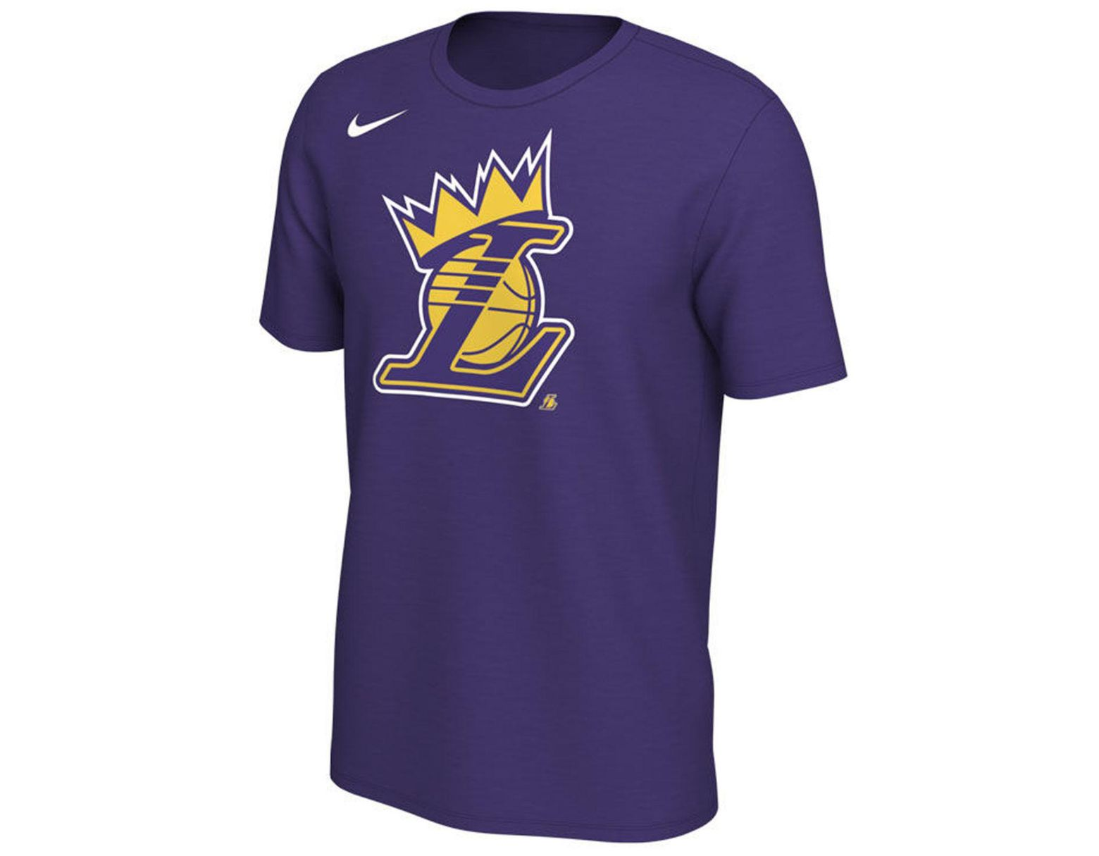 c8c78e5f Nike Lebron James Los Angeles Lakers King's Crown T-shirt in Purple for Men  - Save 50% - Lyst