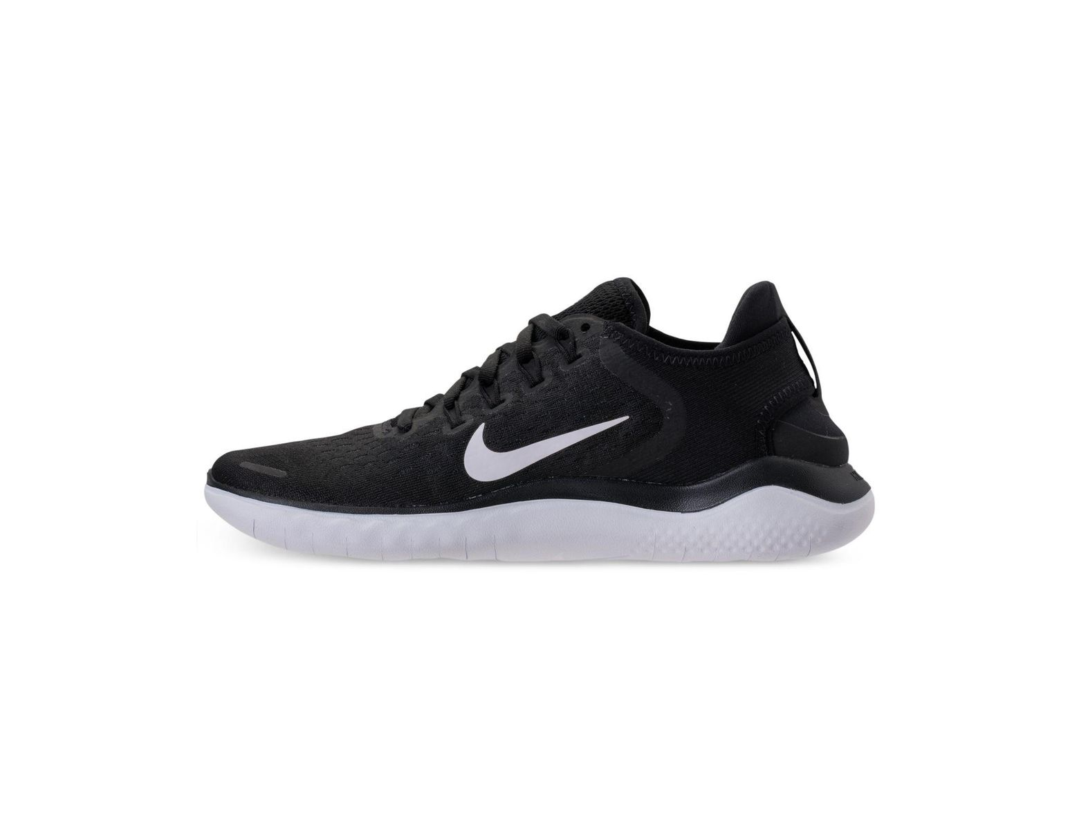 best service 7188e b9663 Nike Free Run 2018 Running Sneakers From Finish Line in Black - Lyst