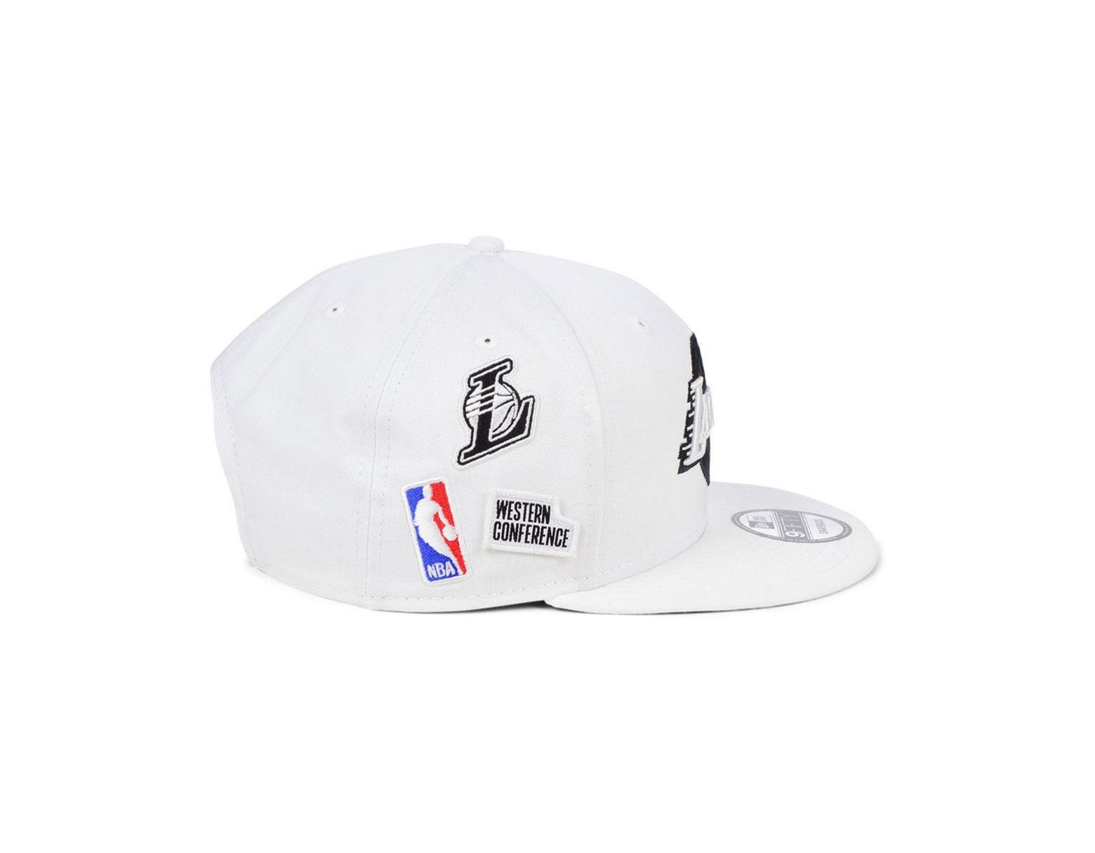 pretty nice c924a 9e0e8 KTZ Los Angeles Lakers Night Sky 9fifty Snapback Cap in White for Men - Lyst