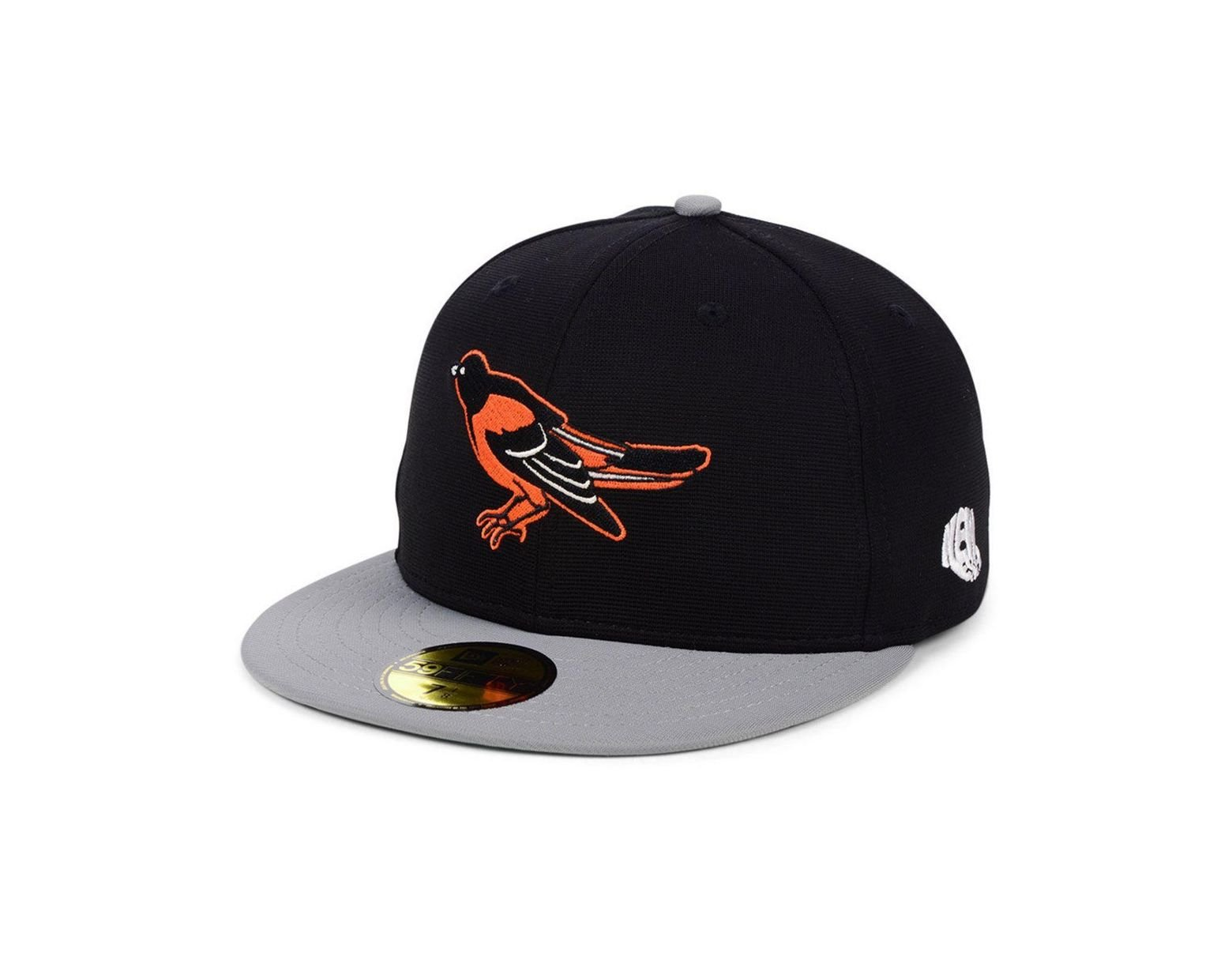 185956b4d KTZ Baltimore Orioles Cooperstown Flip 59fifty Fitted Cap in Black ...
