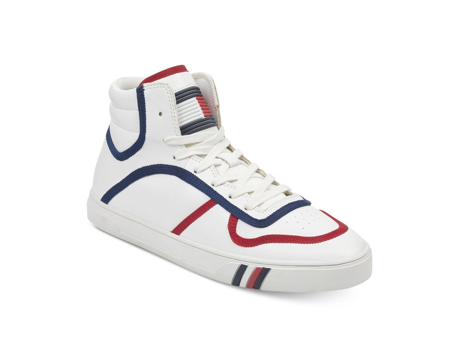 a8cd7a0a Tommy Hilfiger Japan High Top Sneakers in White for Men - Lyst