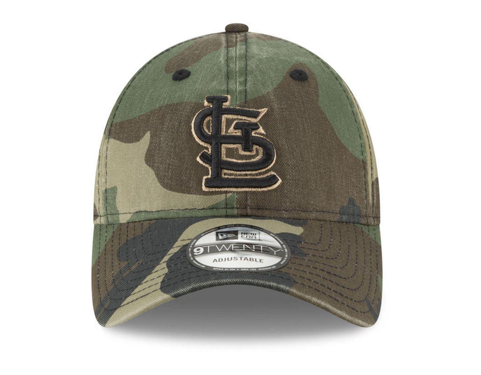 reputable site 1f8bb 235ee KTZ St. Louis Cardinals Camo Core Classic 9twenty Cap in Green for Men -  Lyst