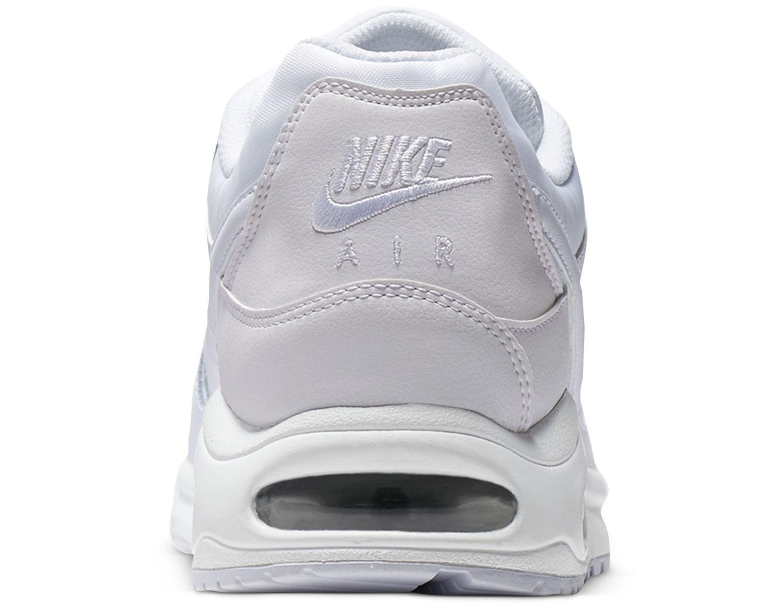 25186c556e Nike Air Max Command Leather Casual Sneakers From Finish Line in White for  Men - Lyst