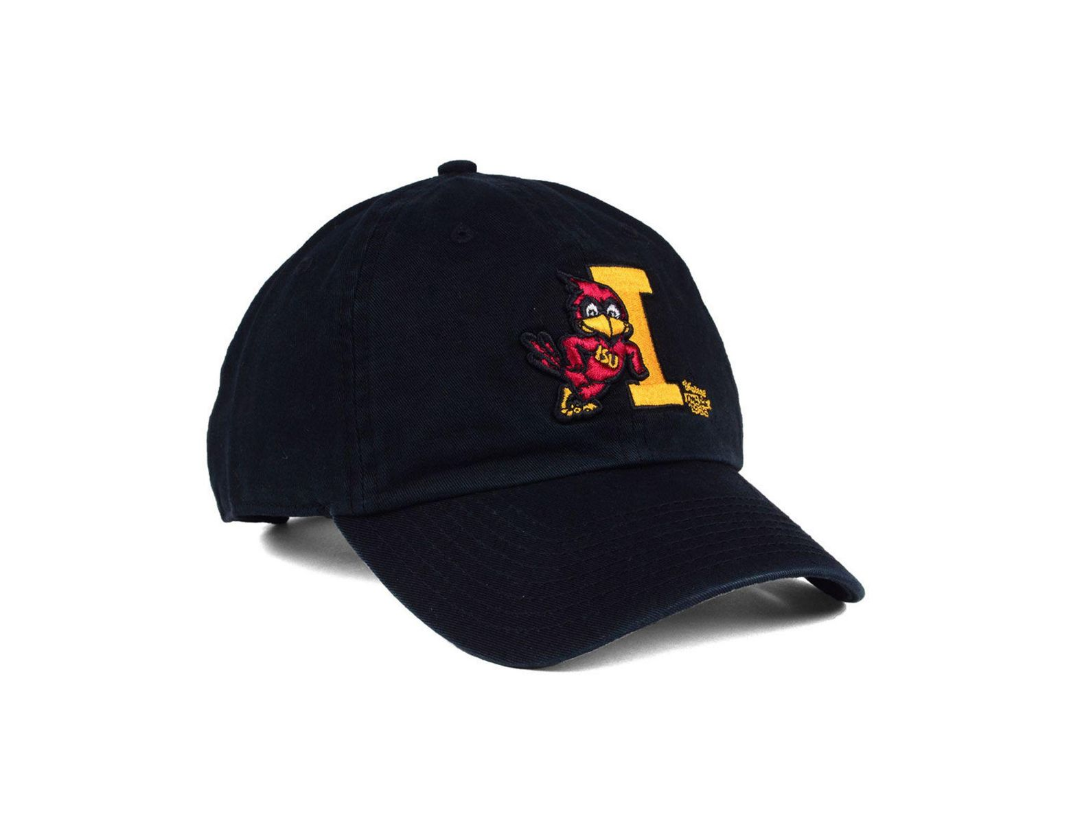 info for f033a ed209 47 Brand Iowa State Cyclones Clean Up Cap in Black for Men - Lyst