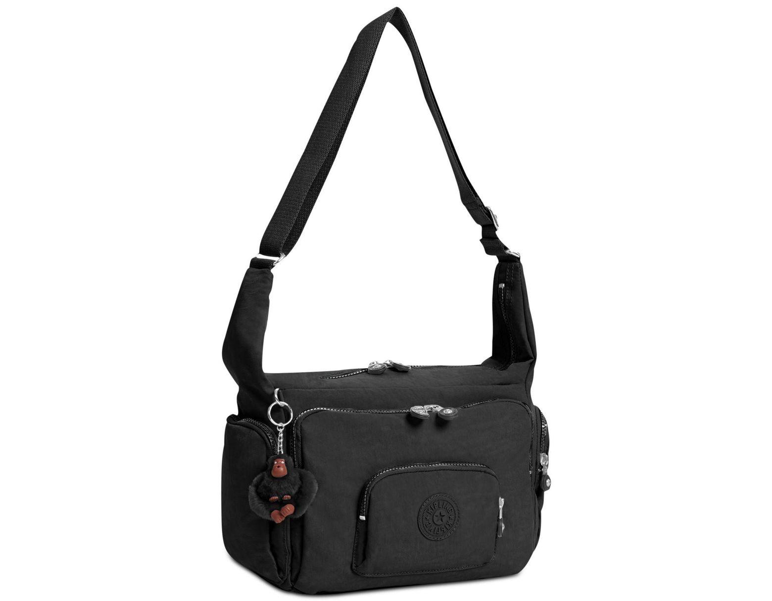 00d8a1f95 Kipling Europa Shoulder Bag in Black - Save 34% - Lyst