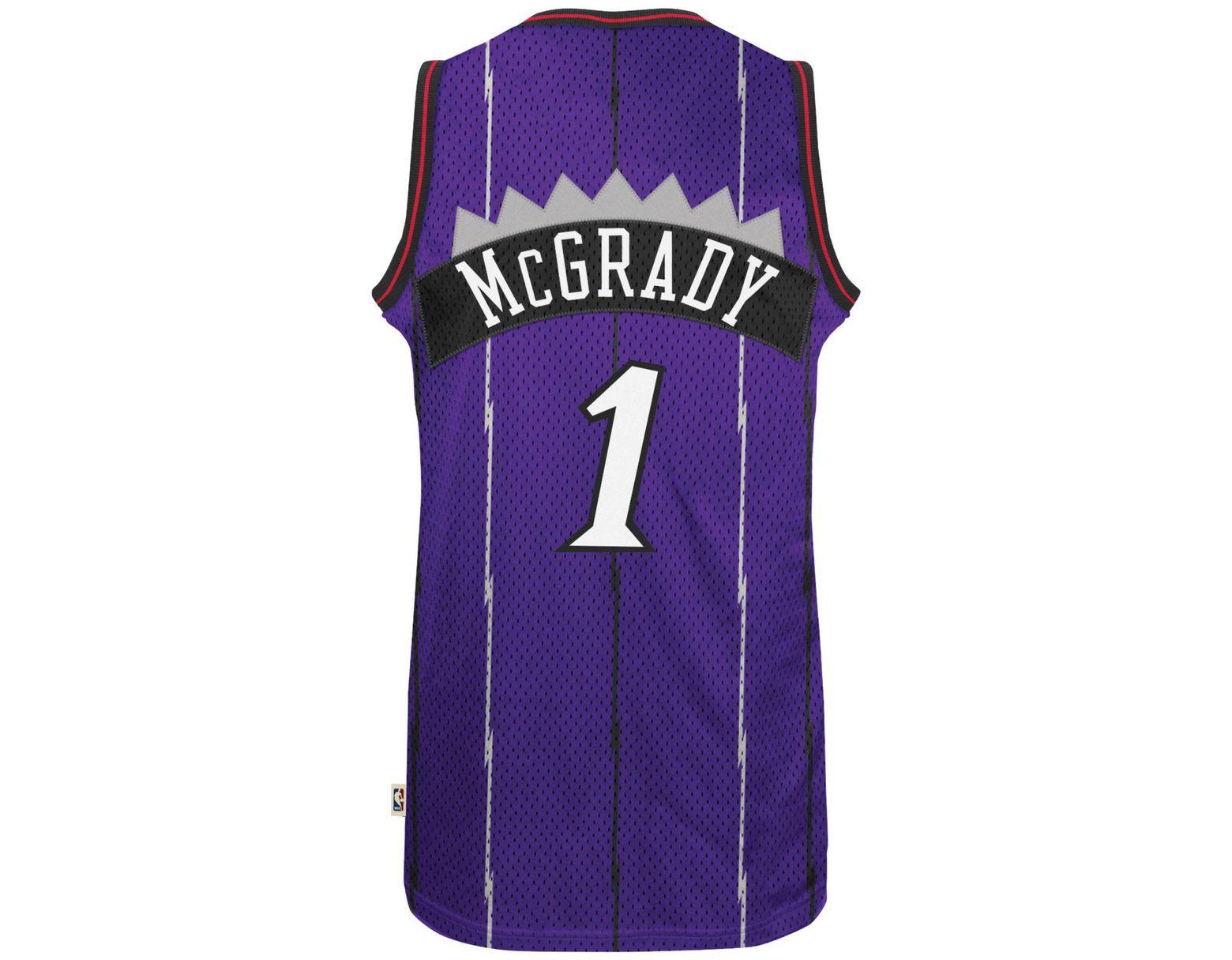 b01e65c987c adidas Men's Tracy Mcgrady Toronto Raptors Swingman Jersey in Purple for  Men - Lyst