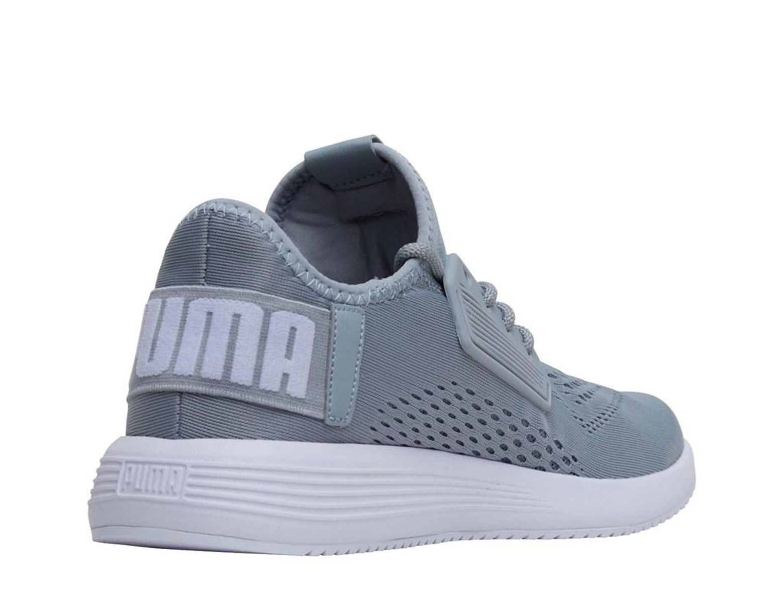 2e911bb2352 PUMA Uprise Mesh Trainers Quarry/ White in Gray for Men - Lyst