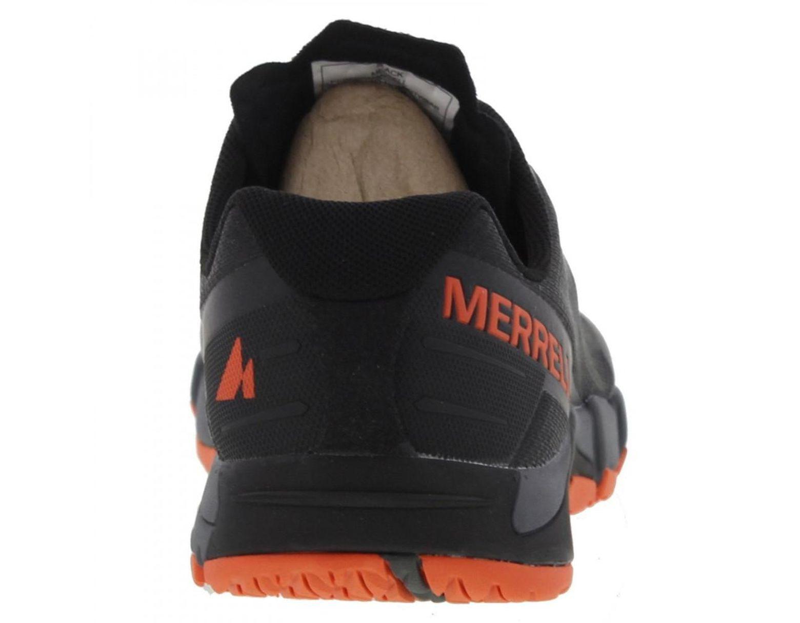 cca88941de5c2 Merrell Bare Access Flex Barefoot Vegan Running Walking Shoes in Black for  Men - Lyst