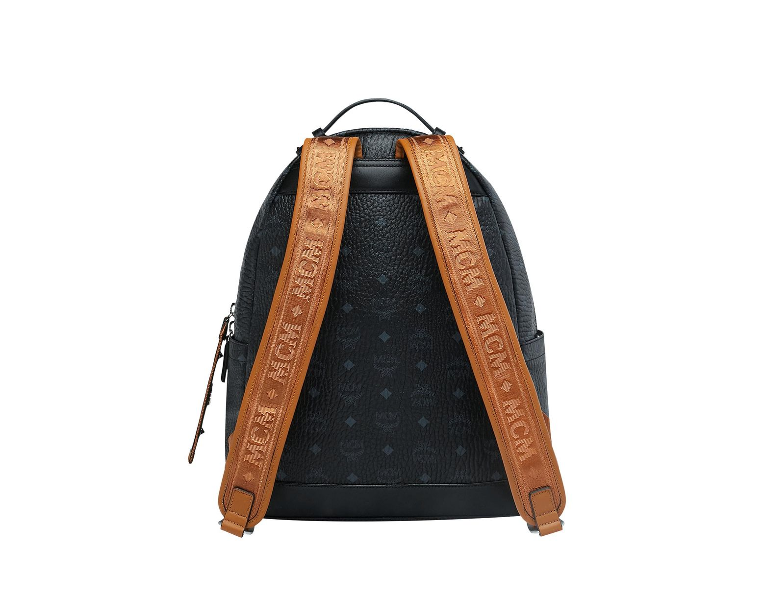 12aff0be90b0e MCM Black/cognac Visetos Stark Backpack in Black for Men - Save 4% - Lyst