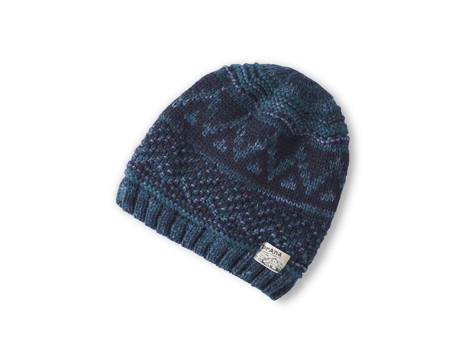 6572edbd1 Prana Payne Beanie in Blue for Men - Lyst