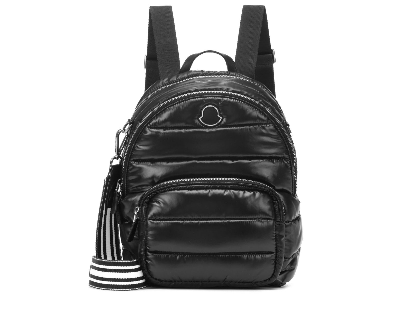 205ad6428 Moncler Kilia Medium Quilted Backpack in Black - Lyst