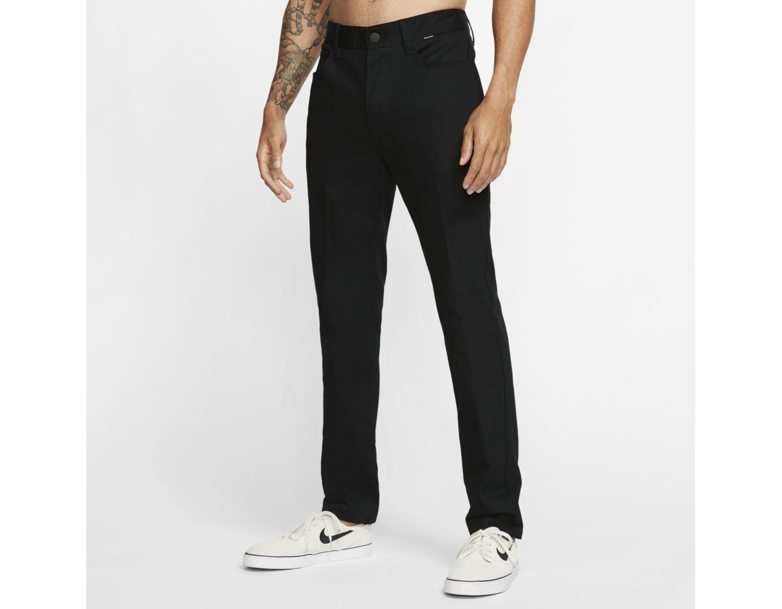 Nike Men In Black Hurley M 84 Cotton For Pants Lyst Storm dxoBeC