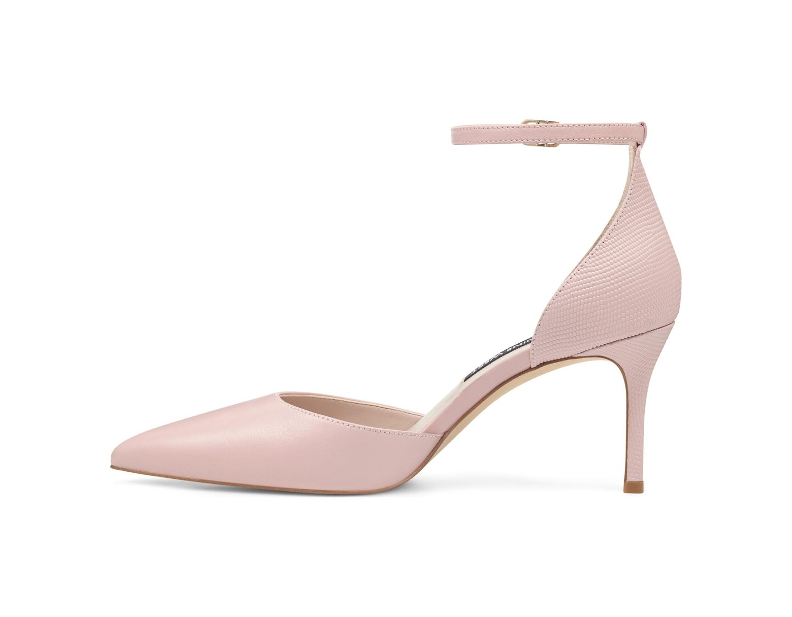 f8603b8f7 Nine West Marisa Ankle Strap Pumps in Pink - Save 38% - Lyst