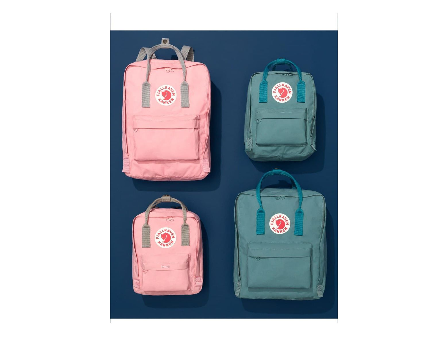 91499867d Fjallraven Kanken Classic Peach Pink Backpack - Womens All in Pink - Save  24% - Lyst