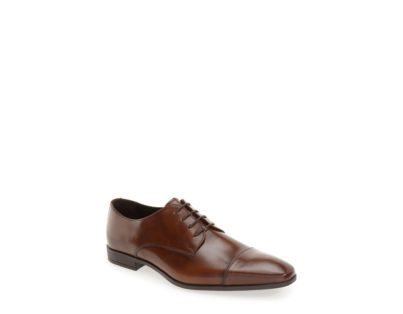 57851bb08e95 The Rail 'stark' Cap Toe Derby in Brown for Men - Save 33% - Lyst