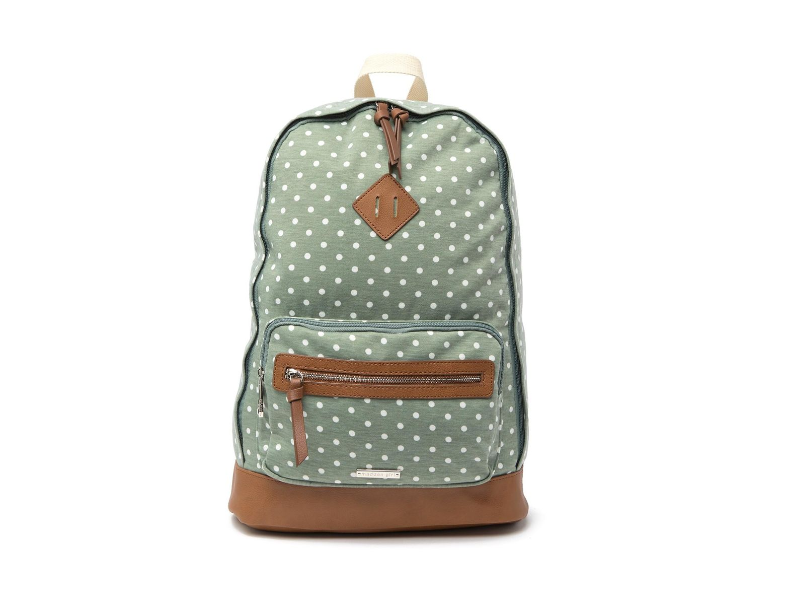 f91269f31 Madden Girl Polka-dot School Backpack in Green - Lyst