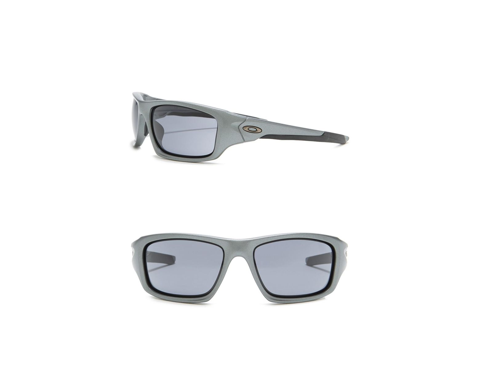 47f392ae6 Oakley Valve 60mm Wrap Sunglasses in Gray for Men - Lyst