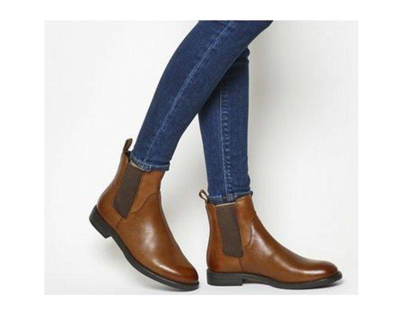 cf1e2c00d4a Vagabond Amina Chelsea Boot in Blue - Lyst