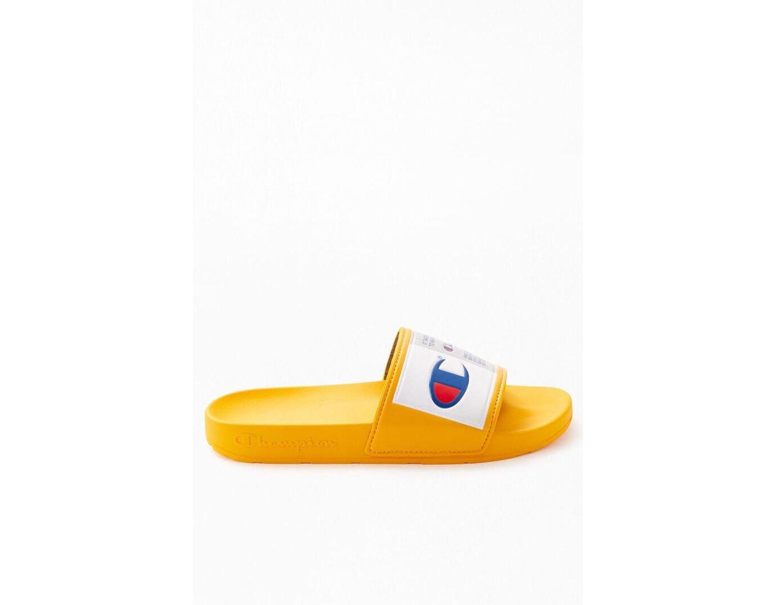 Gold Ipo Slide Men's C Jock Sandals Metallic 4LR5Aq3j