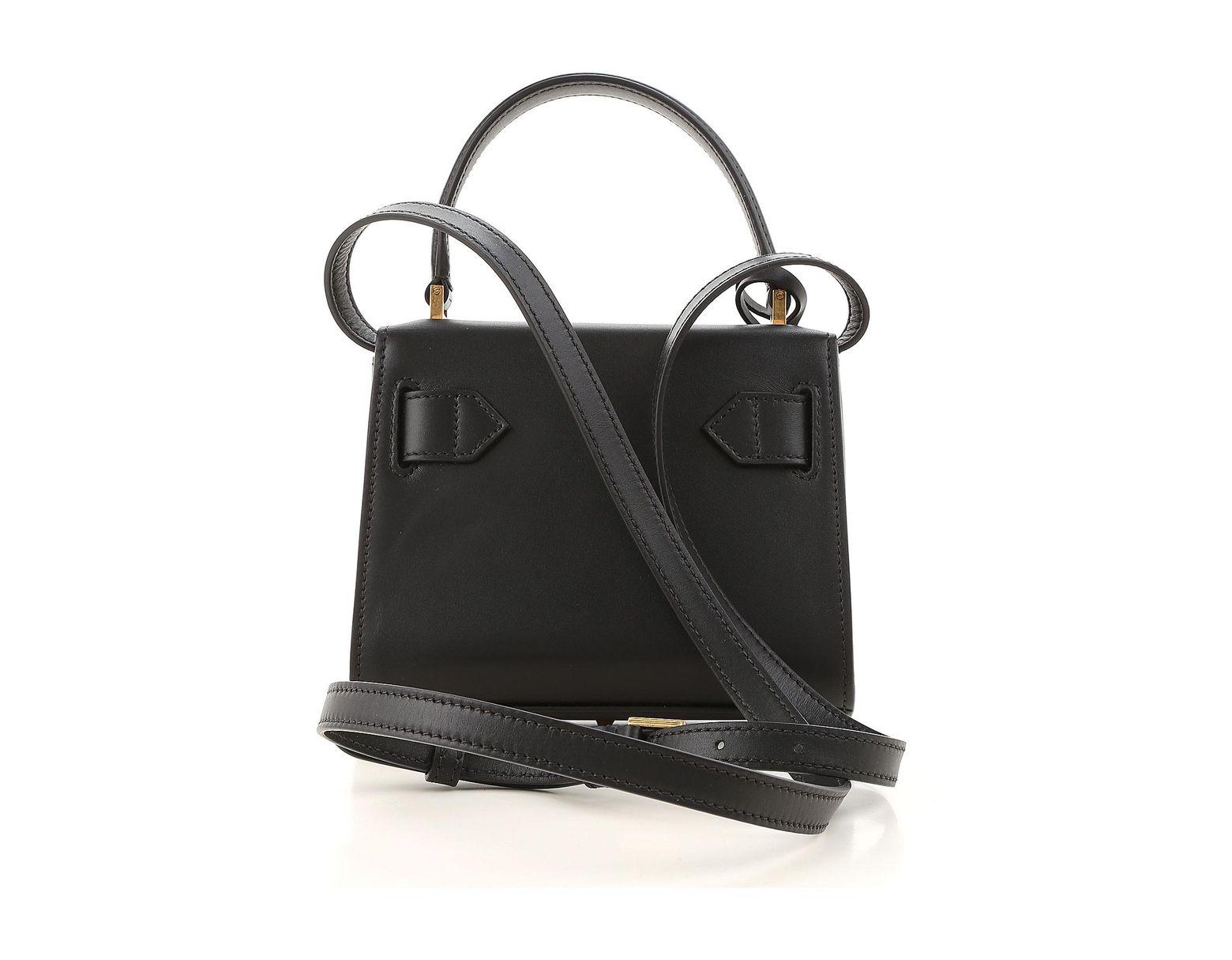 eae5eb4c00 Sac Bandoulière Femme Pas cher en Soldes Versace en coloris Noir - Lyst