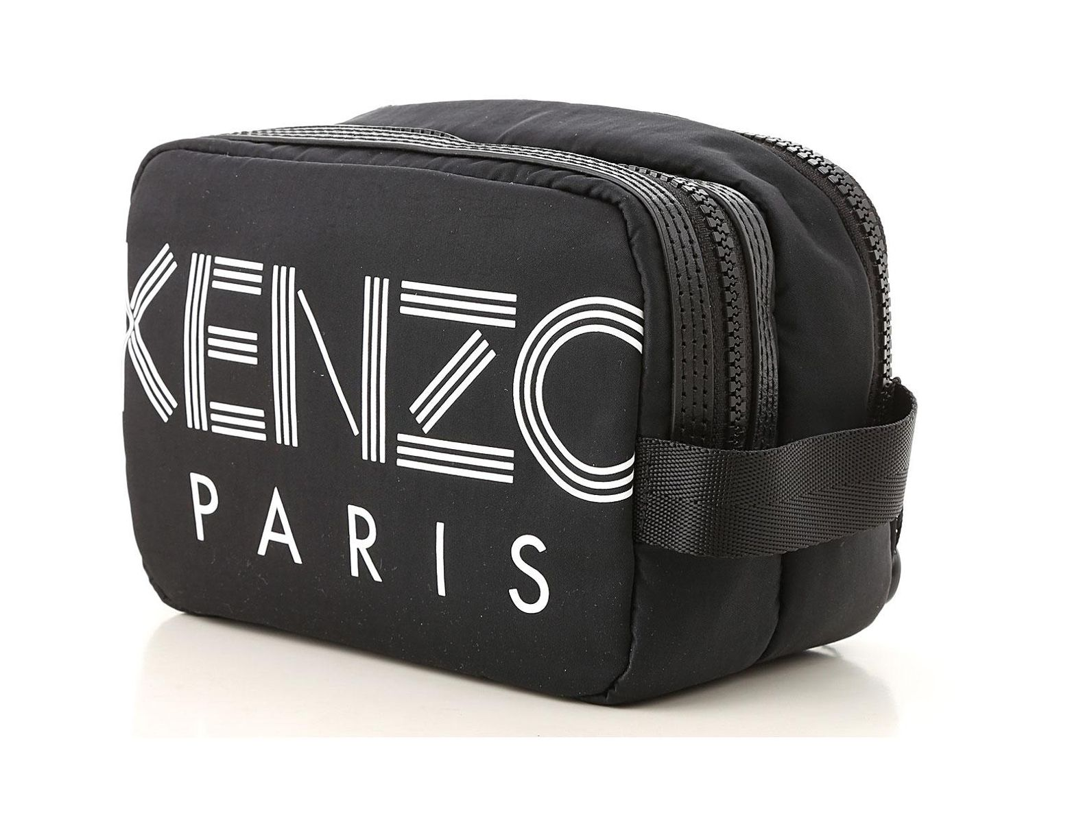 e0a8721e5 KENZO Toiletry Bag For Men On Sale in Black for Men - Save 33% - Lyst