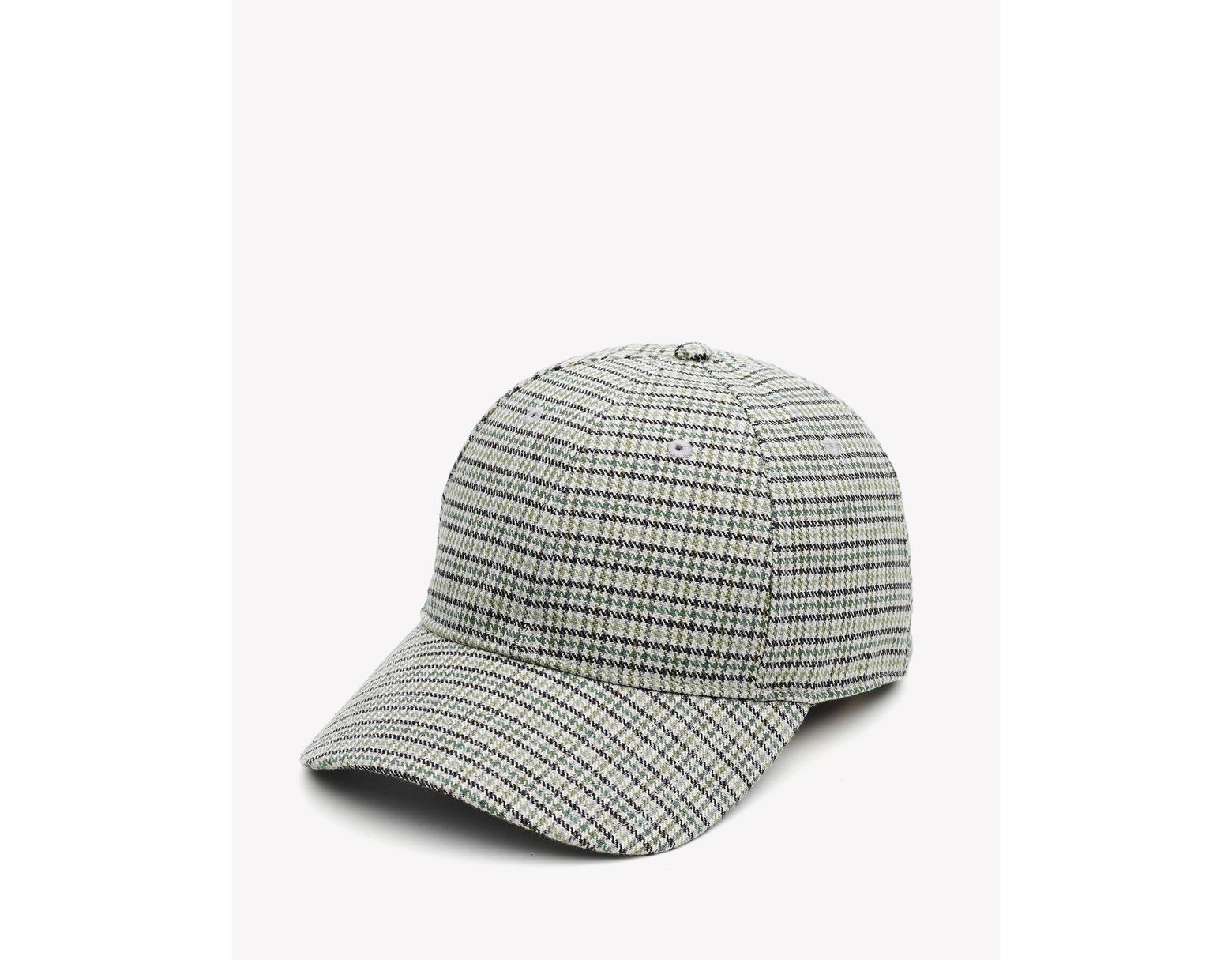 Rag & Bone Archie Baseball Cap in Gray for Men - Lyst